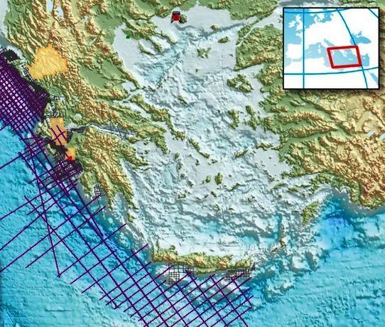 Εντοπισμός φυσικού αερίου και πετρελαίου στην Ελλάδα