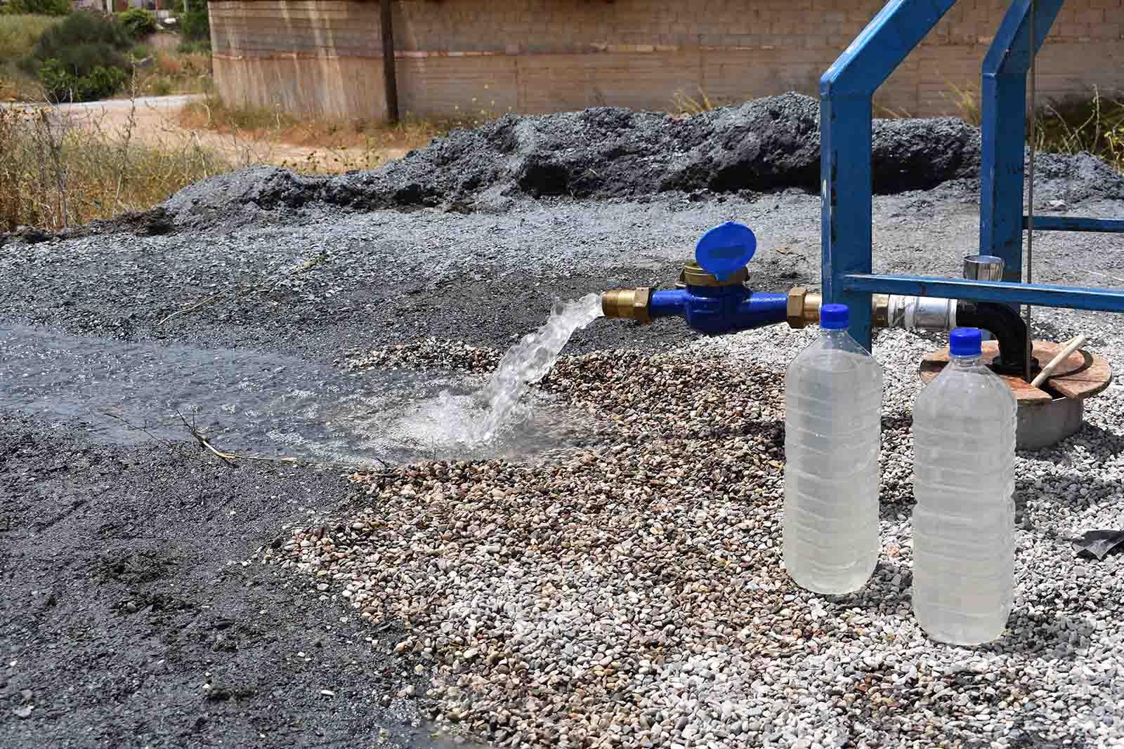 Δειγματοληψία νερού από γεώτρηση