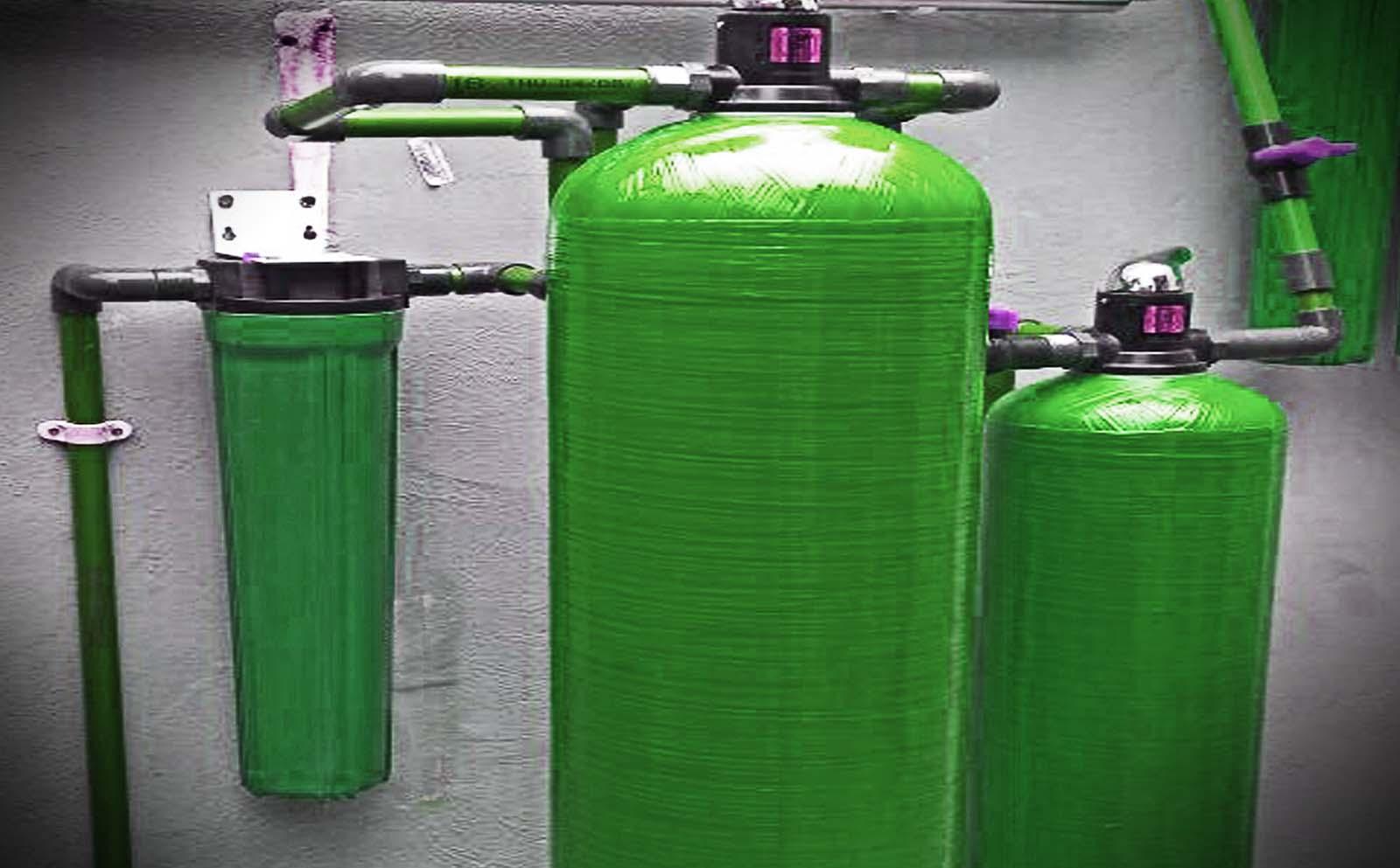 Εξοπλισμός για φιλτράρισμα νερού